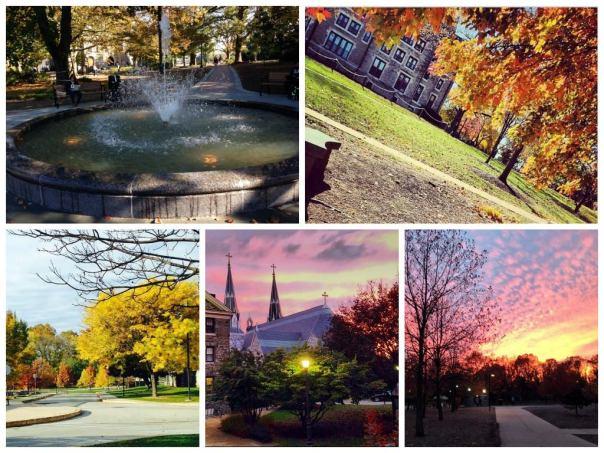 Fall colors at Villanova