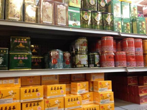 Asian Tea Selection