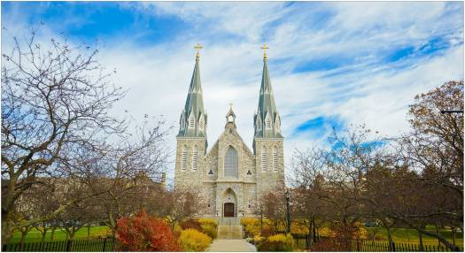 Photo of Villanova Church by Michele Griffin