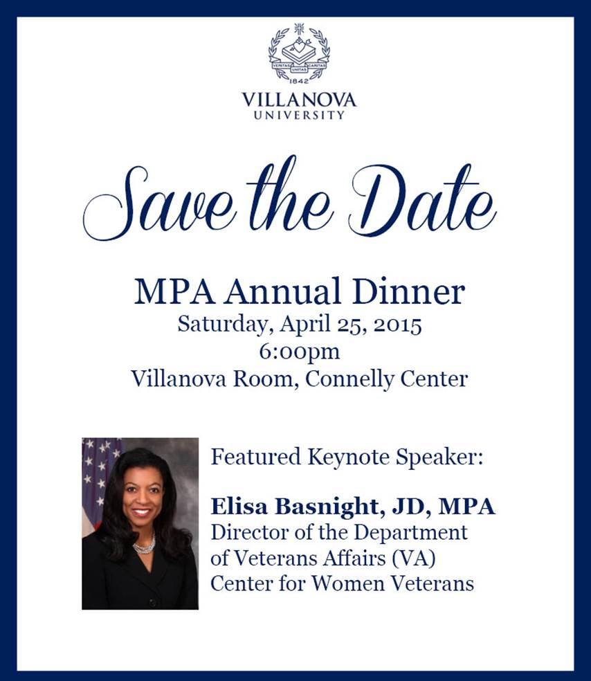 MPA Dinner 2015