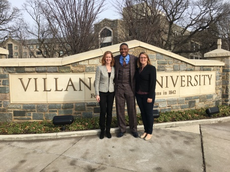 Dr. Wilson, Dr. Proctor, and Meghan Rago