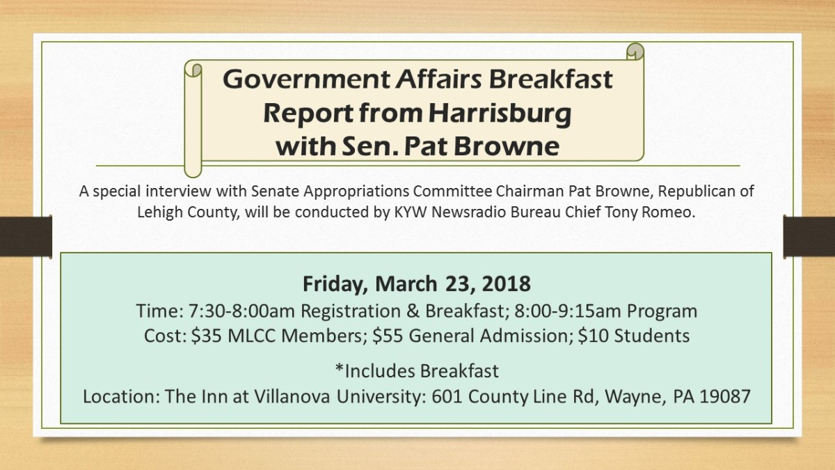 Government Affairs Breakfast